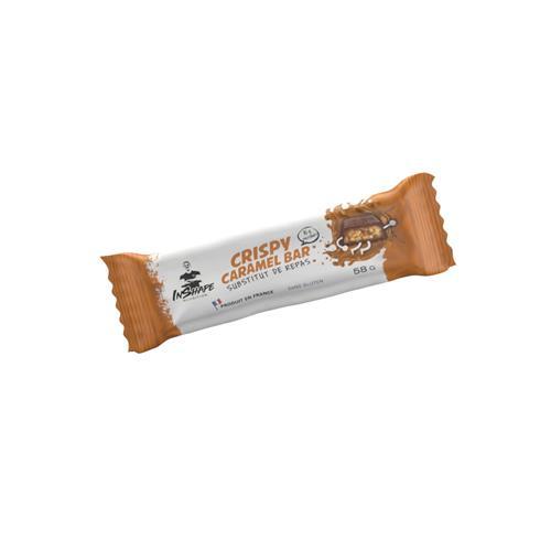 Diététique InShape Nutrition Barre Crispy Caramel - Substitut de repas