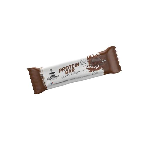 Protéines InShape Nutrition Barre Protéinée cookies & cream