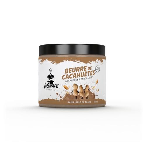 Cuisine - Snacking InShape Nutrition Beurre de cacahuètes Crunchy / Pâte à tartiner