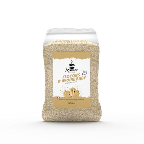 Cuisine - Snacking InShape Nutrition Flocons d'avoine baby biologiques