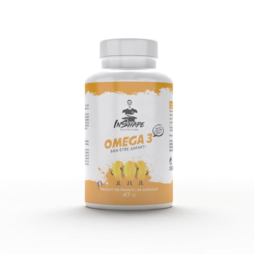 Sèche - Définition Omega 3 InShape Nutrition - Fitnessboutique