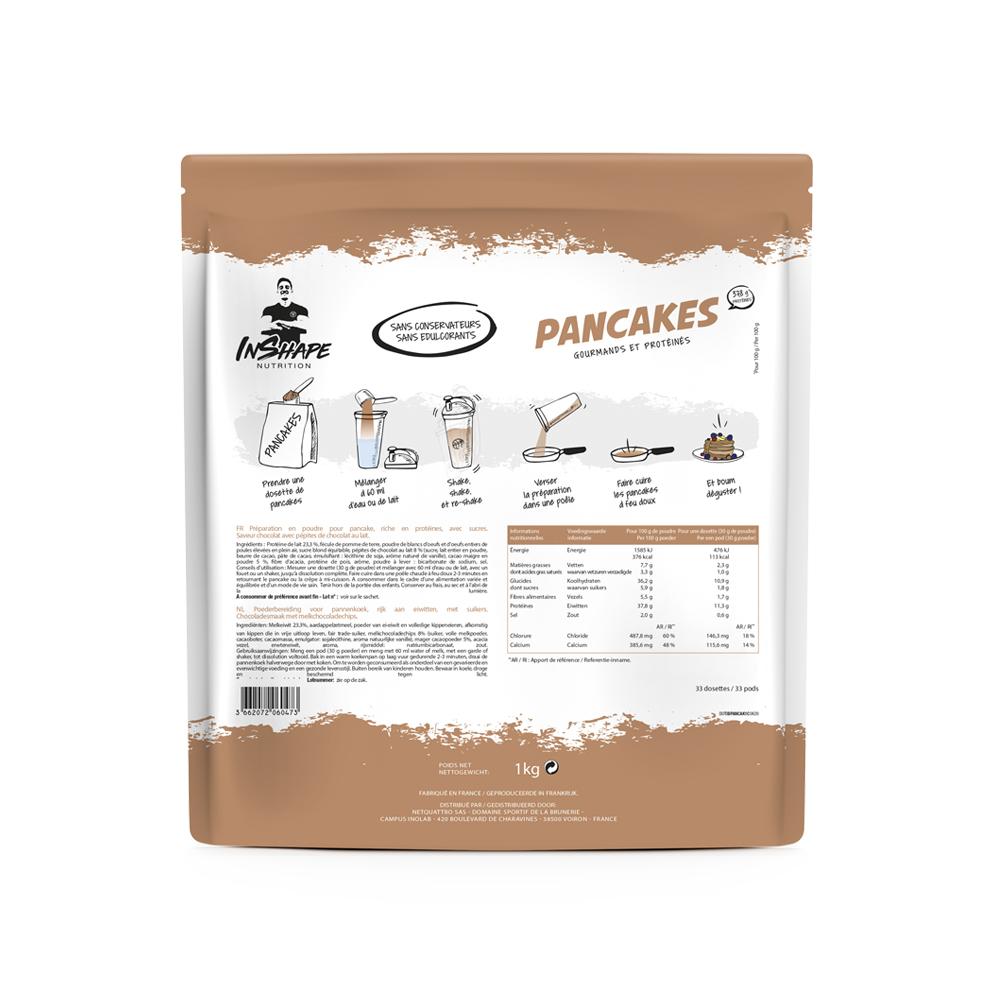 InShape Nutrition Pancakes chocolat