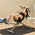 Best Fitness Poste à abdo semi-couché