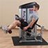 Bodysolid Club Line Seated Leg Curl 75 kg