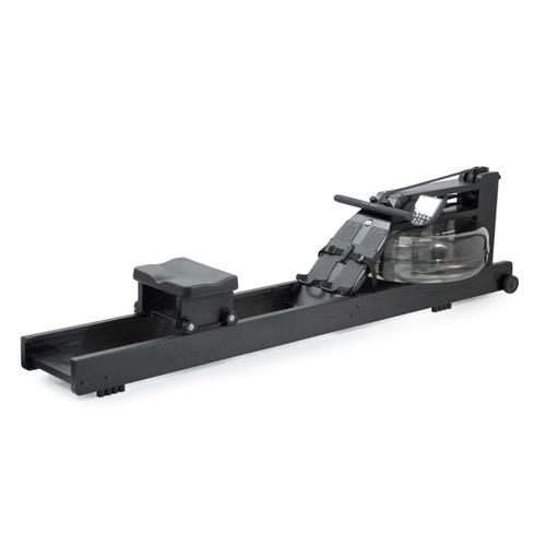 Rameur Shadow full black avec moniteur S4 Waterrower - Fitnessboutique
