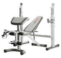 Banc de musculation PRO 290 CW Weider - Fitnessboutique