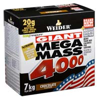 Prise de masse Weidernutrition Giant Mega Mass 4000