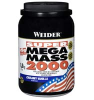 Hard Gainer Weidernutrition Super Mega Mass 2000