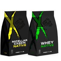 Whey protéine Pack Protéine Jour Nuit XNative - Fitnessboutique