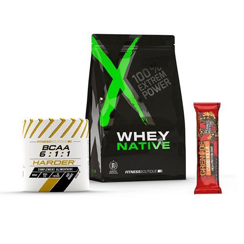 Protéines Pack Débutant XNative - Fitnessboutique