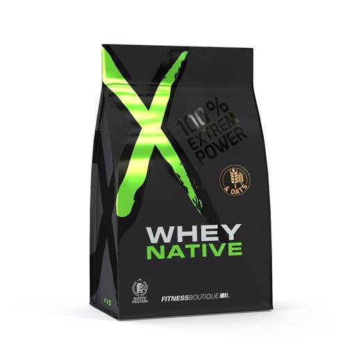 Protéines XNative Whey & Oats