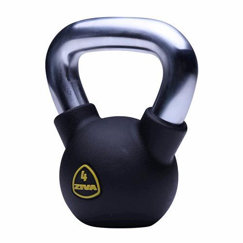 Kettlebells Kettlebell rubber Ziva - Fitnessboutique