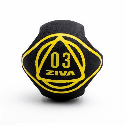 Médecine Ball - Gym Ball Ziva Dual Grip Medicine Ball
