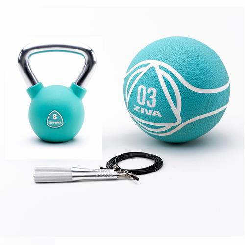 Kettlebells Functional Kit Urethan Ziva - Fitnessboutique