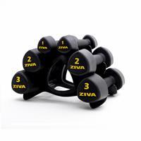 Barres et haltères spécifiques Urethan Studio Tribell Set (2 x 1kg, 2kg, 3kg) Ziva - Fitnessboutique
